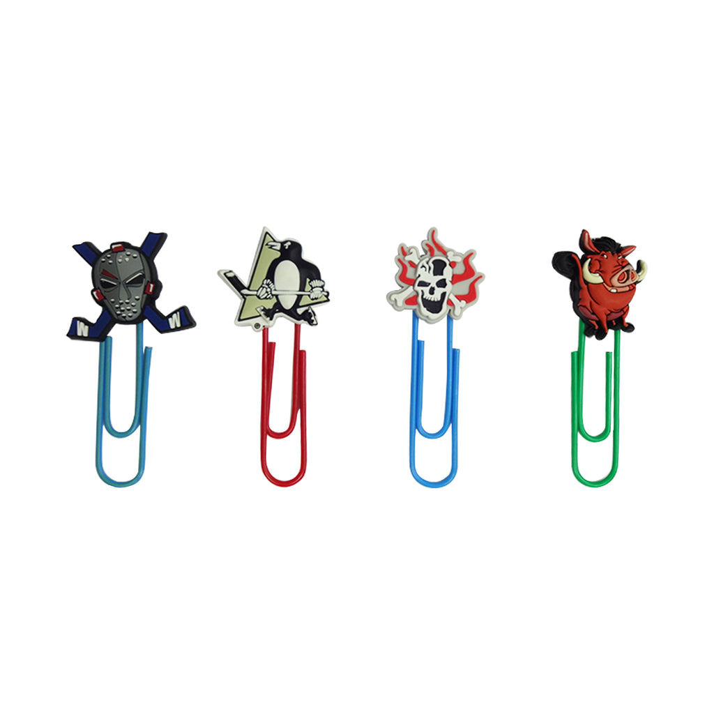 Pumbaa Mixed Design Paper Clip - Set of 4