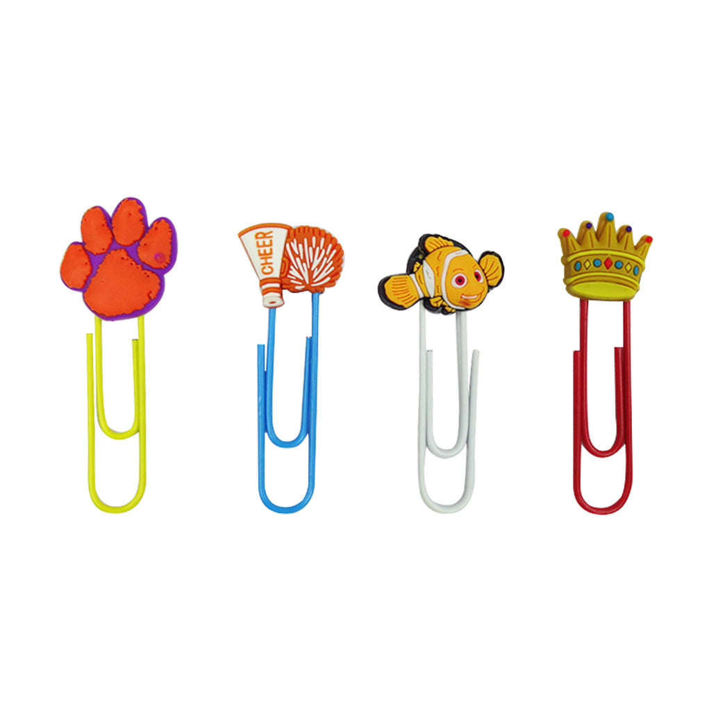 Nemo Mixed Design Paper Clip - Set of 4