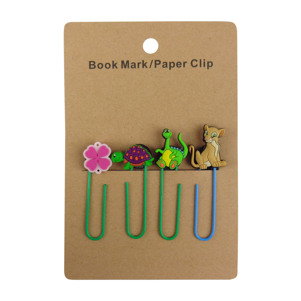Simbaa Mixed Design Paper Clip - Set of 4
