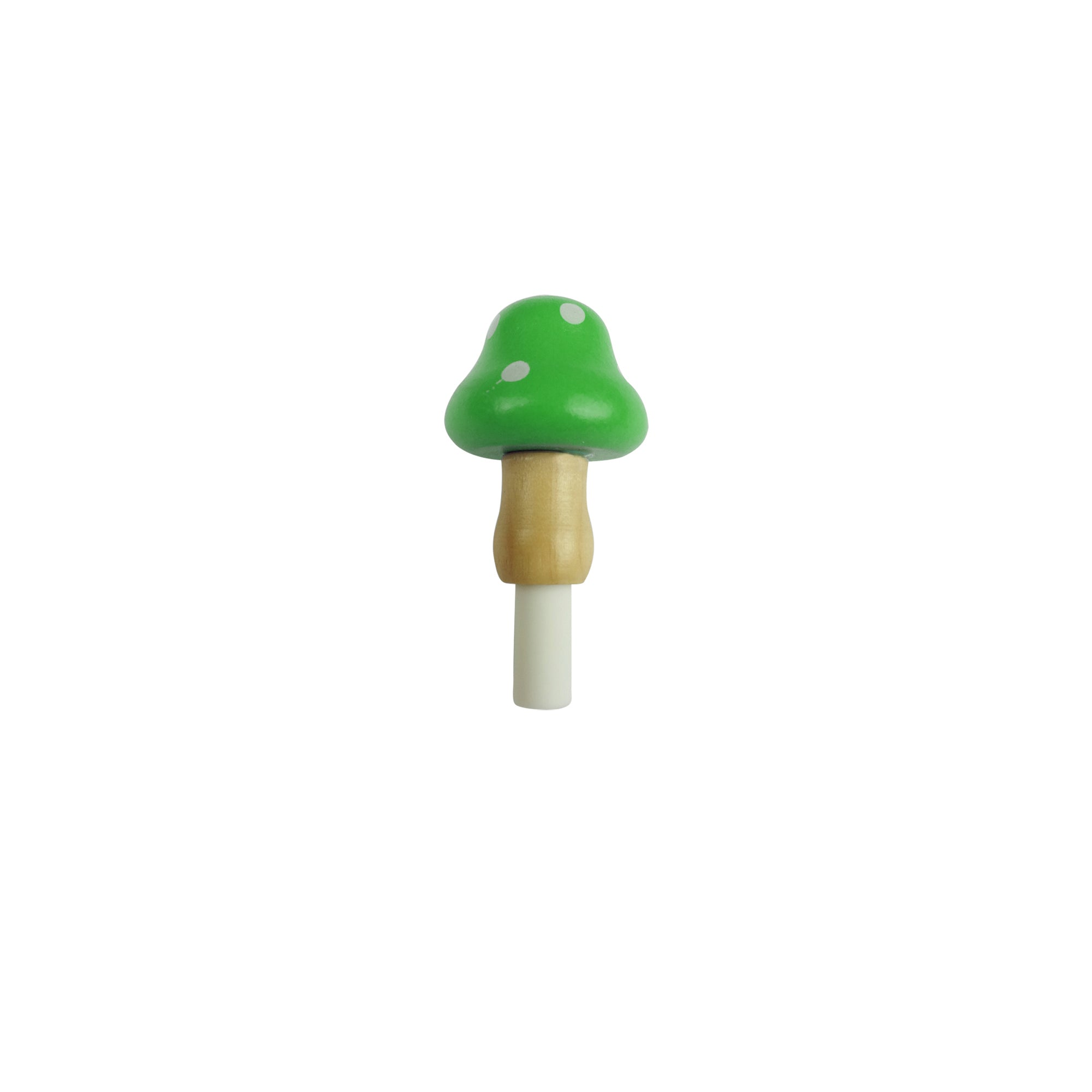 Black Ink Gel Pen Mushroom Green