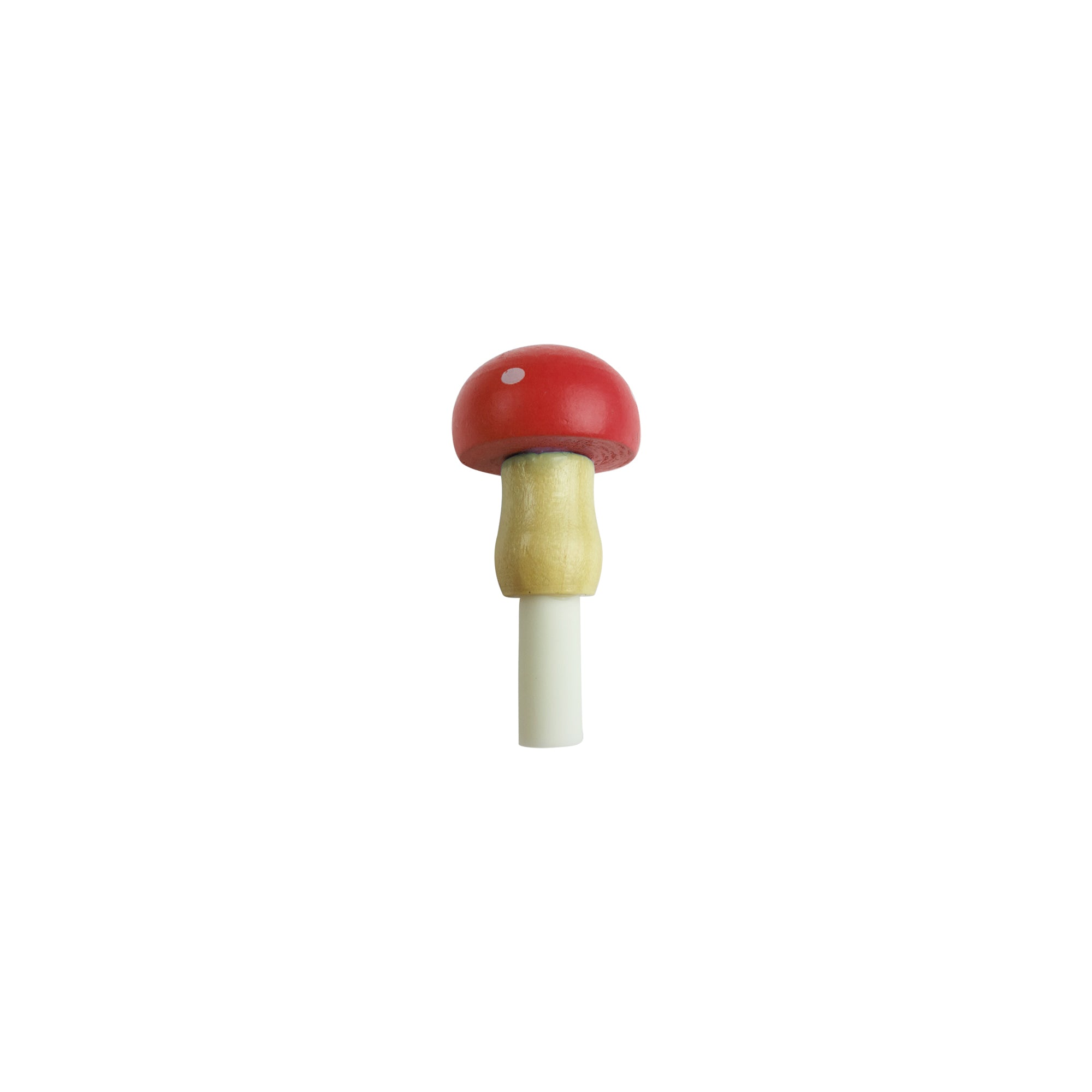 Black Ink Gel Pen Round Mushroom Red
