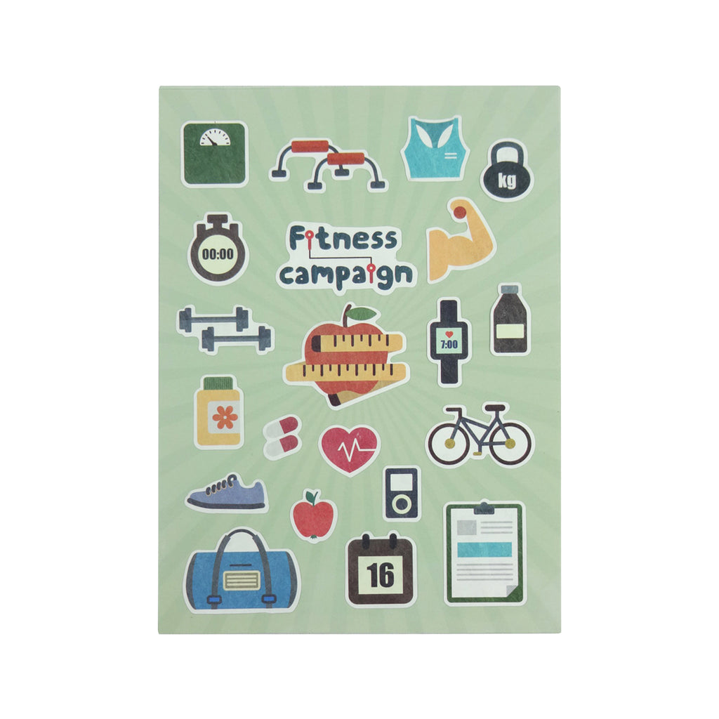 Fitness Campaign Stickers