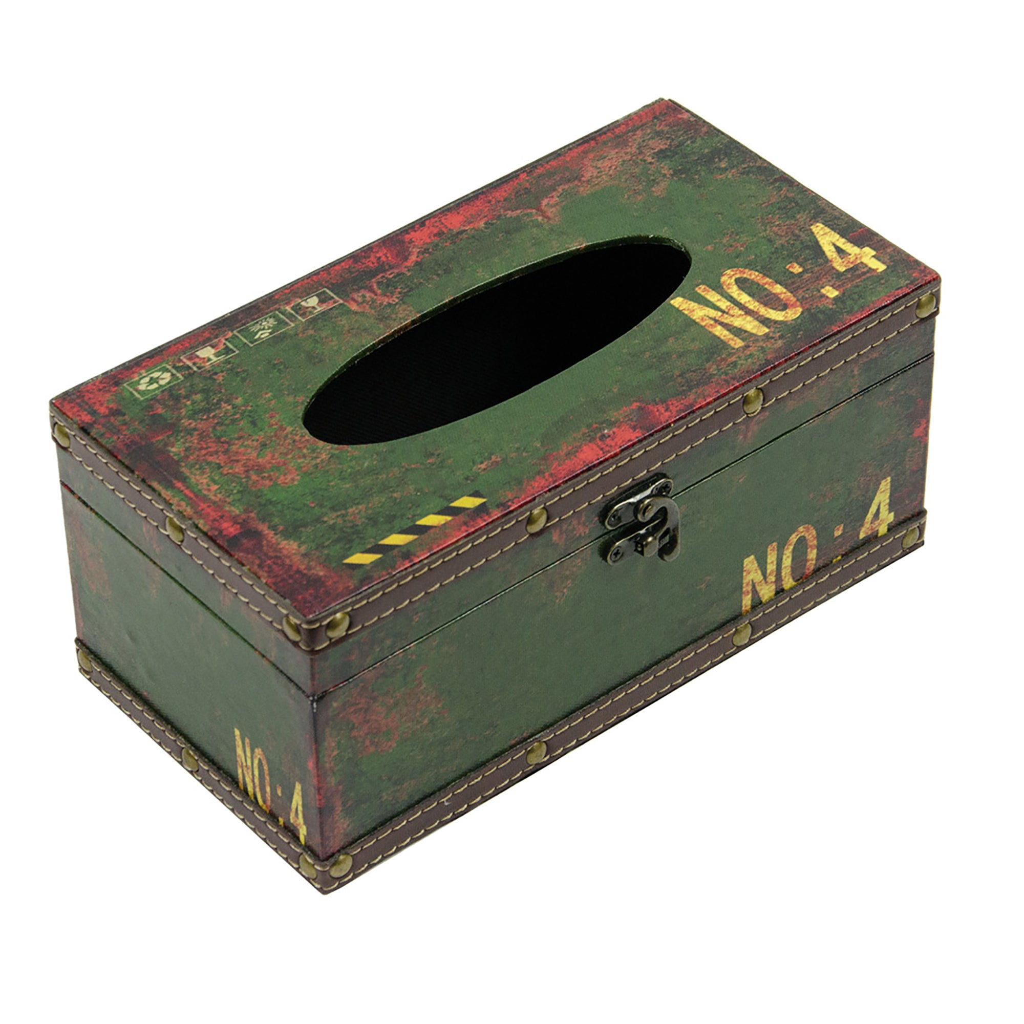 Retro Tissue Box - No. 4