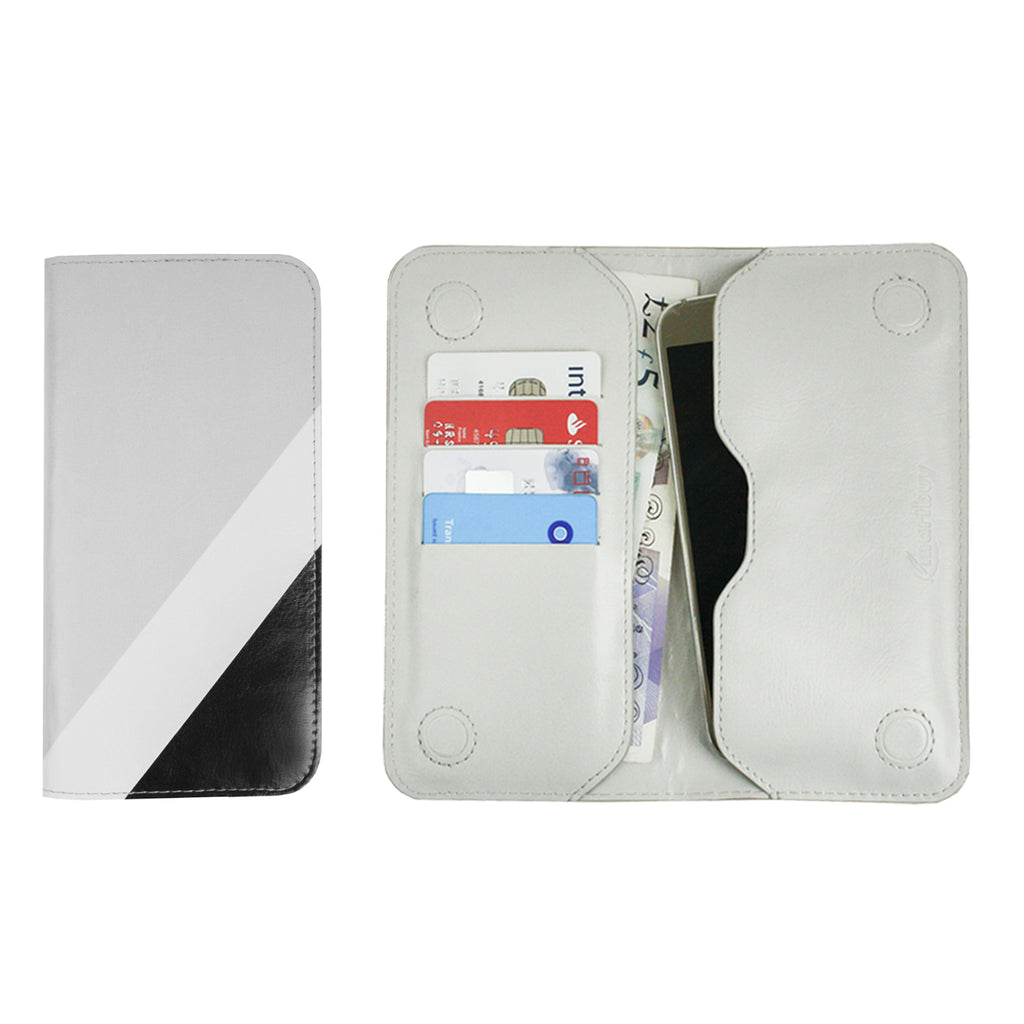 MAGNETIC PHONE WALLET - BLACK/GREY