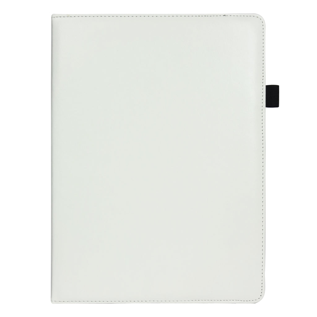 360° Rotating Universal Tablet Case - White Plain
