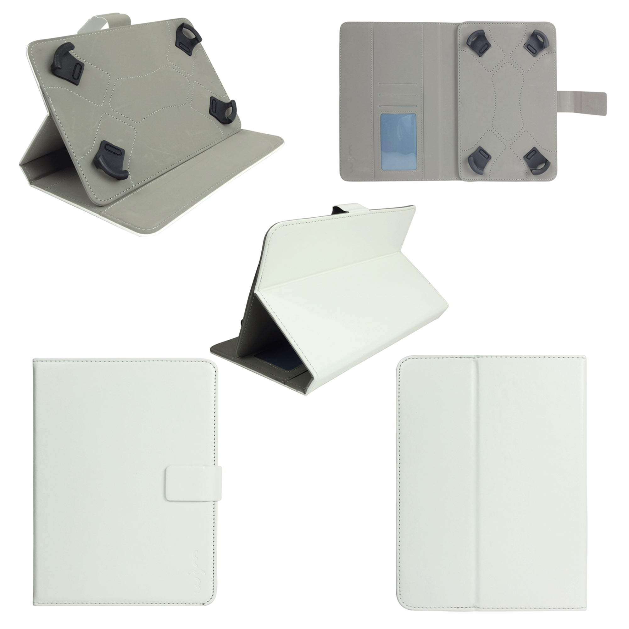 White Plain Universal Tablet Case