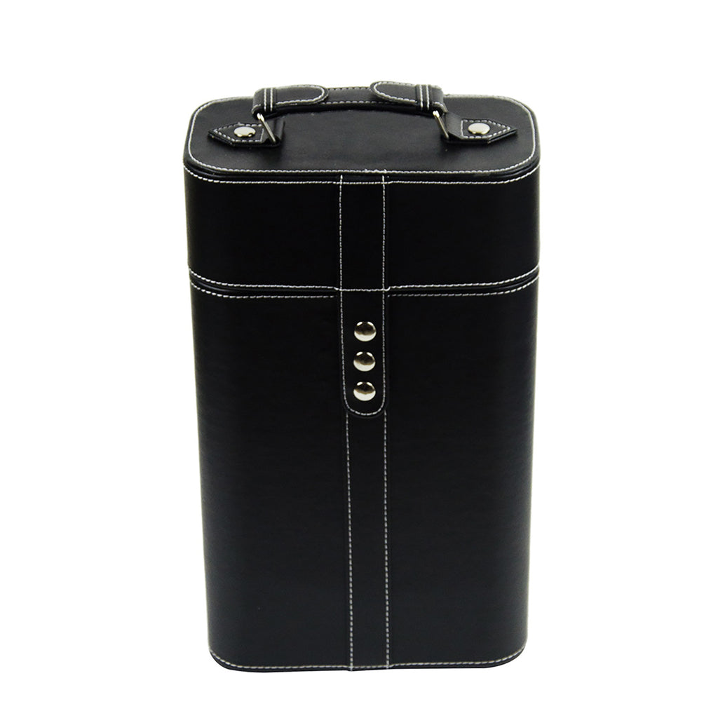 PU Wine Box - Black