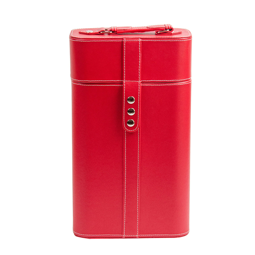 PU Wine Box - Red