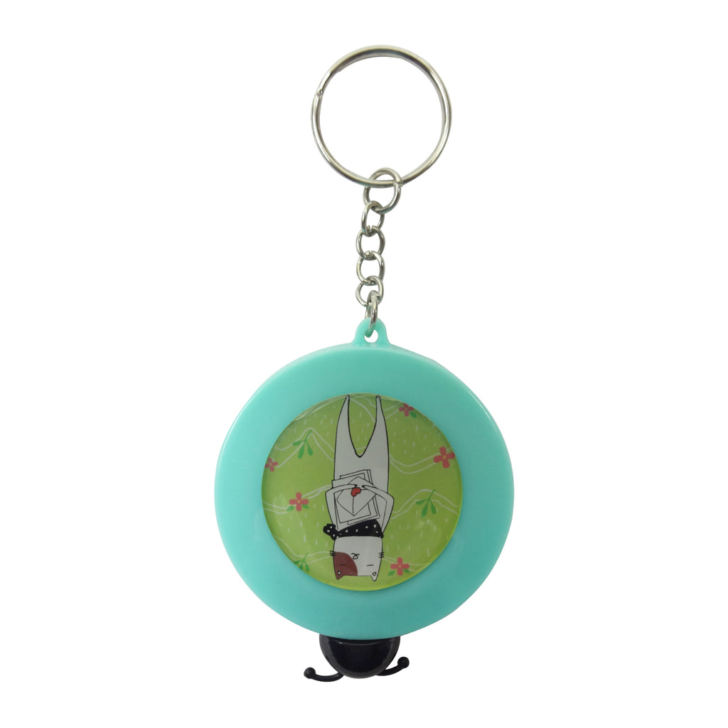 Cat Measuring Tape - Turquoise