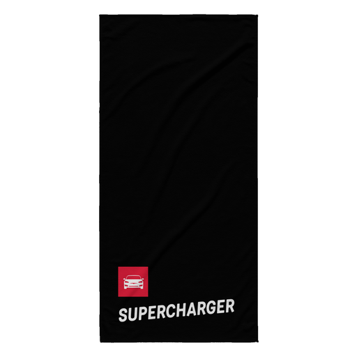 Beach Towel - Supercharger from tesla-shop.co