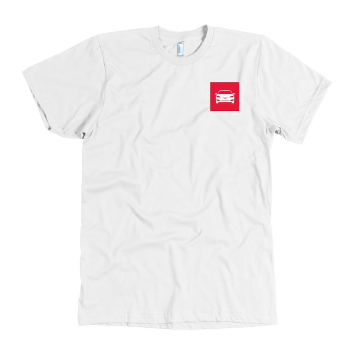 American Apparel T-shirt - Square from tesla-shop.co
