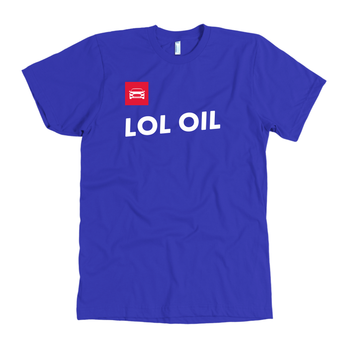 LOL OIL - American Apparel T-shirt for Men from tesla-shop.co
