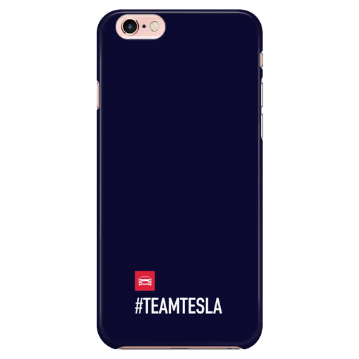 iPhone 7/7s Black Case - #TEAMTESLA (Limited Edition) from tesla-shop.co