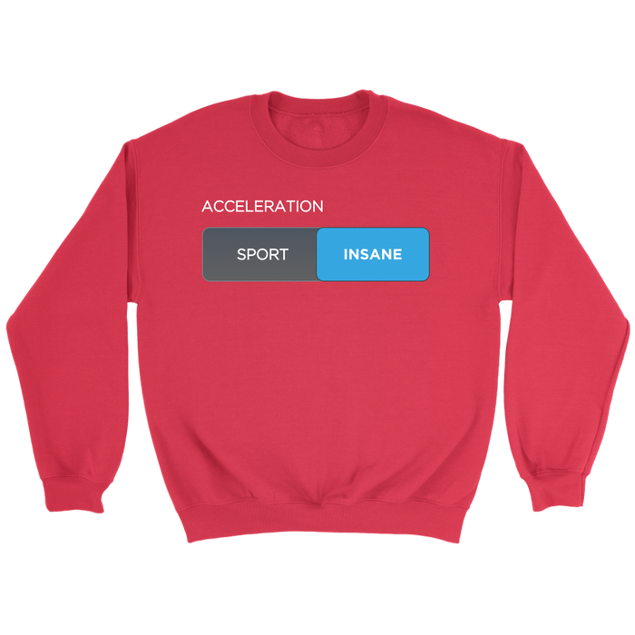 Sweatshirt - Insane Mode from tesla-shop.co