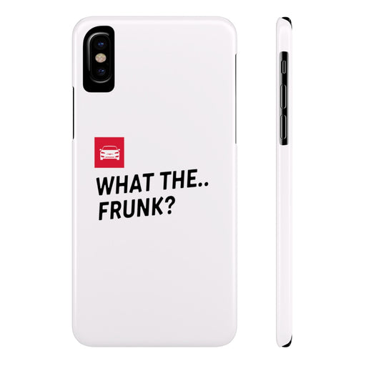 iPhone 6 - X Slim Case - what the frunk? from tesla-shop.co