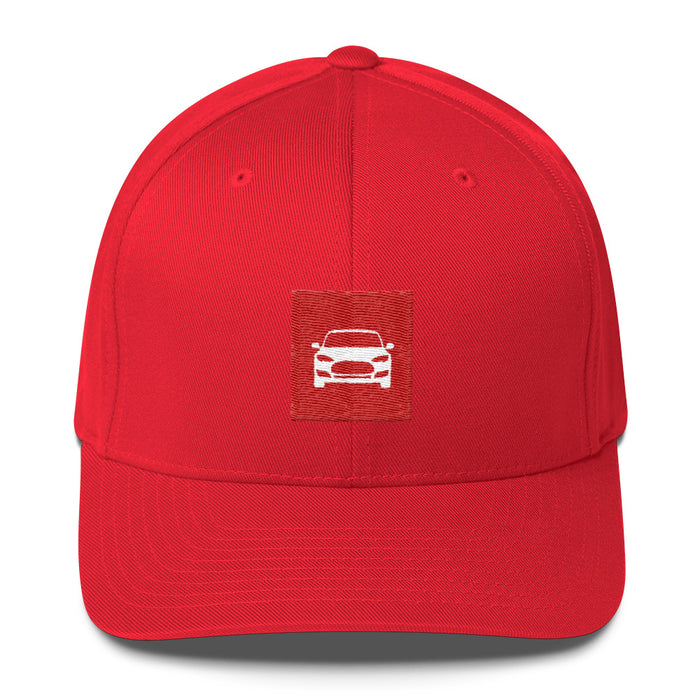 Structured Twill Cap - Tesla from tesla-shop.co
