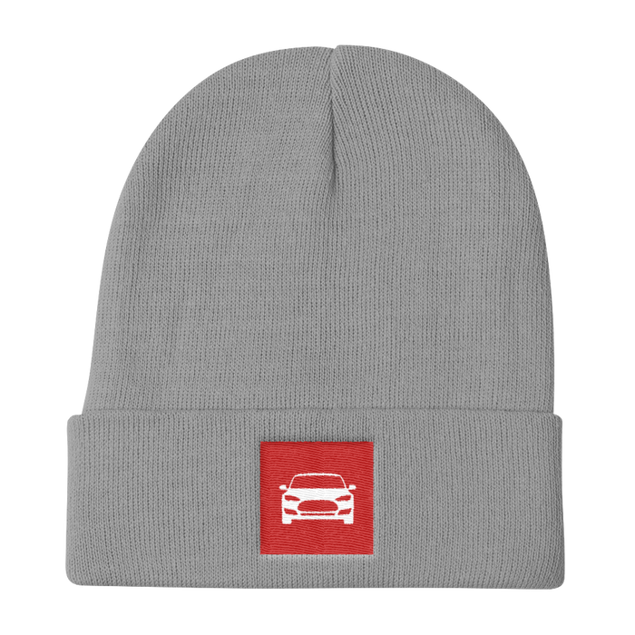 Knit Beanie - Square from tesla-shop.co