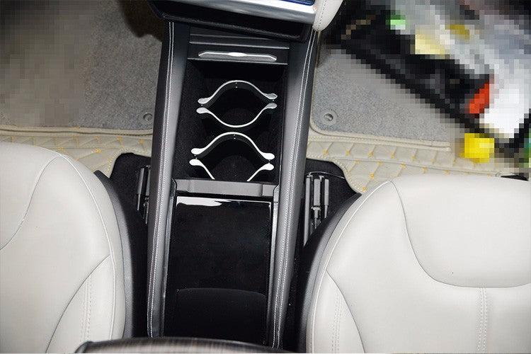Integrated Central Storage Box for Tesla Model S from tesla-shop.co