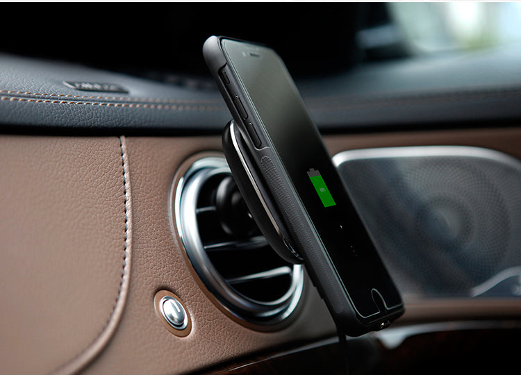 Wireless Charger Pad & Case for iPhone from tesla-shop.co