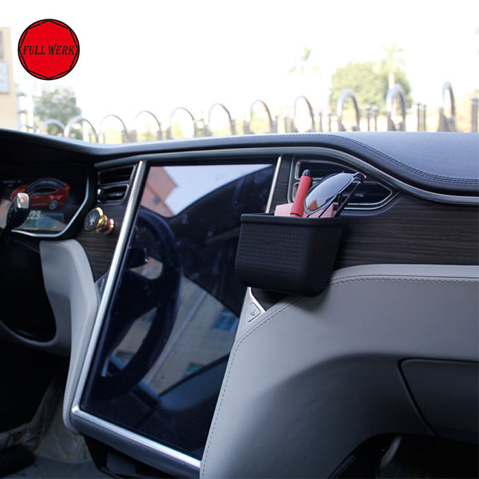 Console Pocket for Model S - FullWerk from tesla-shop.co