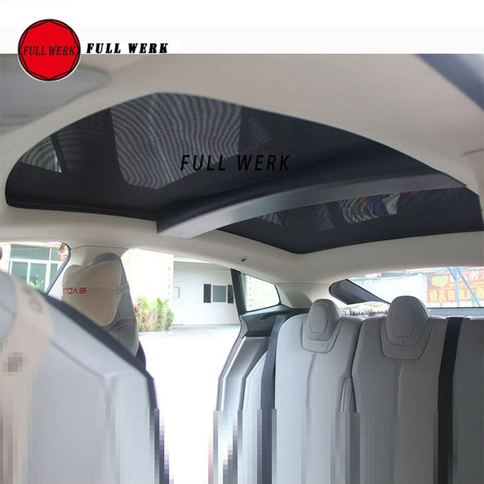 Panoramic Roof Shades for Tesla Model S from tesla-shop.co