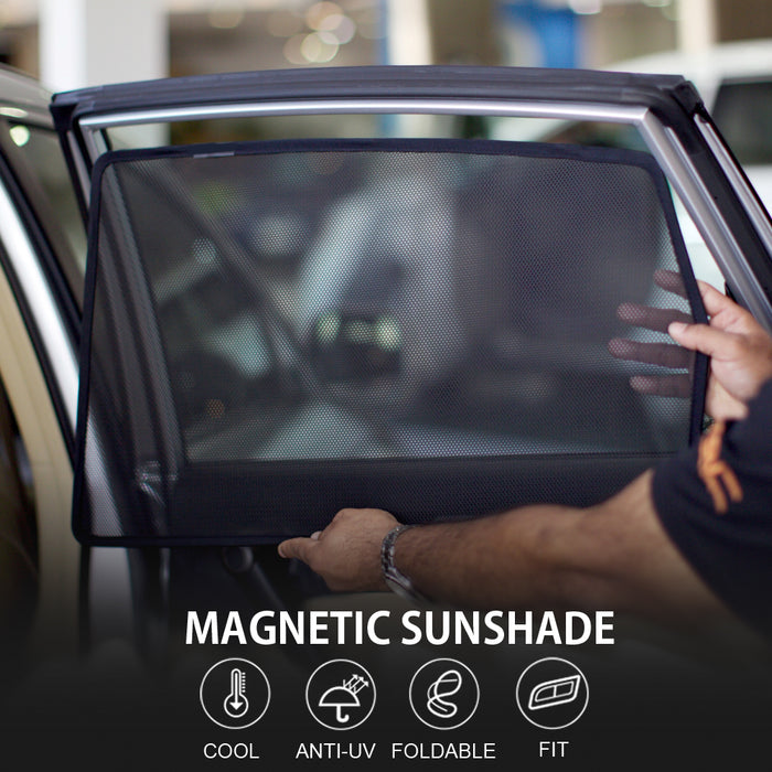 Magnetic Window Sunshade for Tesla Model S & Tesla Model X from tesla-shop.co