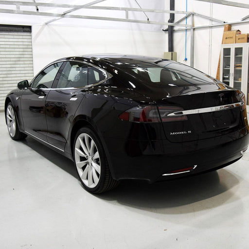 Stainless Steel Rear Trim for Tesla Model S from tesla-shop.co