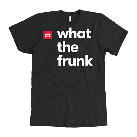 American Apparel T-shirt - what the frunk