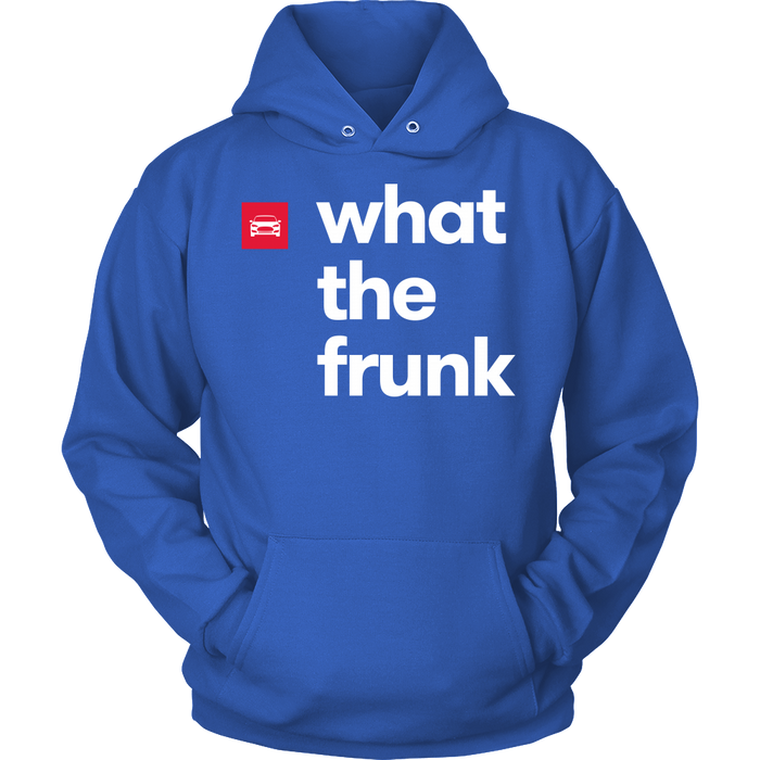Unisex Hoodie - what the frunk from tesla-shop.co