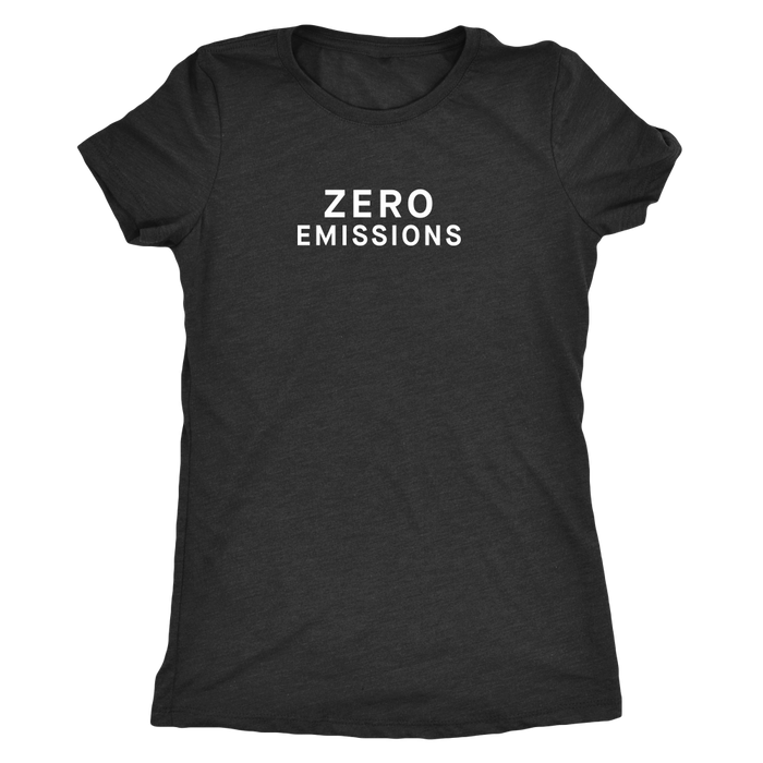 T-shirt - Zero Emissions from tesla-shop.co