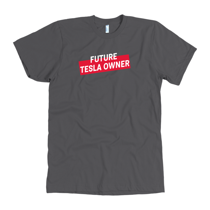 American Apparel T-shirt - Future Tesla Owner from tesla-shop.co