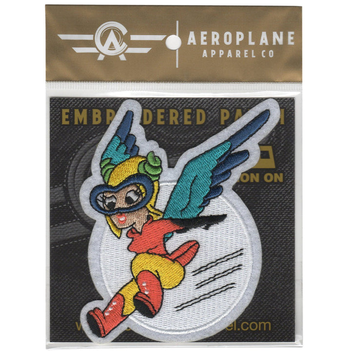 Pins Patches Lanyards Keychains - Fifinella (Fifi) Women Airforce Service Pilots Embroidered Patch (Iron On Application)