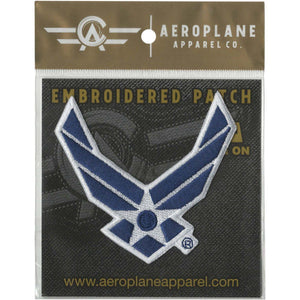 Pins Patches Lanyards Keychains - U.S. Air Force Symbol Embroidered Patch (Iron On Application)