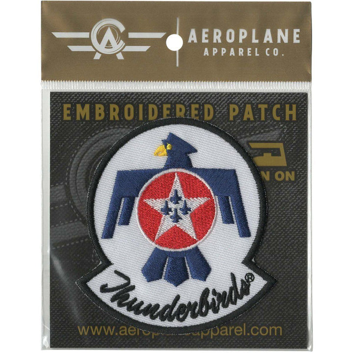 Pins Patches Lanyards Keychains - U.S. Air Force Thunderbirds Embroidered Patch (Iron On Application)