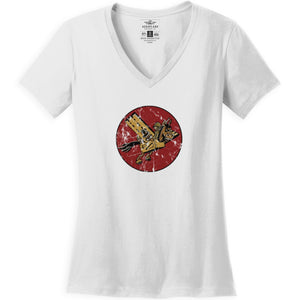 Shirts - 11th Troop Carrier Squadron Aeroplane Apparel Co. Women's T-Shirt