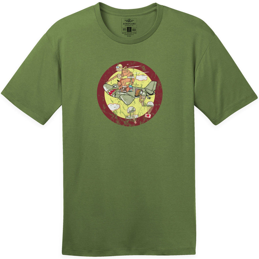 Shirts - 12th Troop Carrier Squadron Aeroplane Apparel Co. Men's T-Shirt