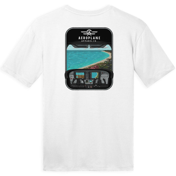 Shirts - 172 Over St Pete Beach Aeroplane Apparel Co. Men's T-Shirt