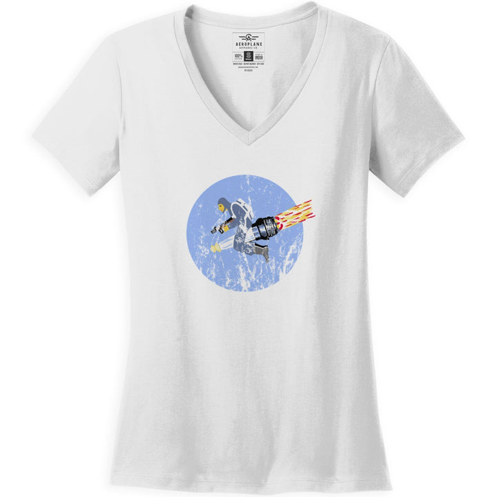 Shirts - 26th Troop Carrier Squadron Aeroplane Apparel Co. Women's T-Shirt