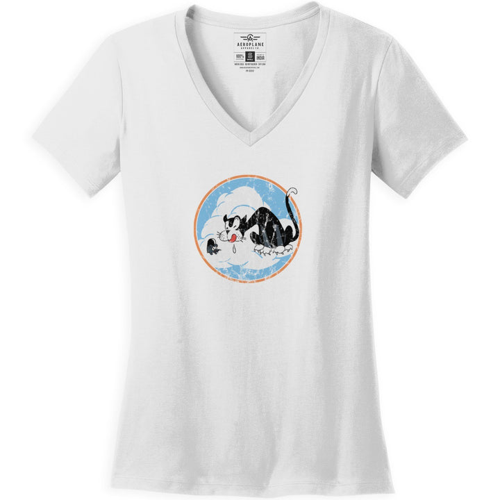 Shirts - 322d Fighter Squadron Aeroplane Apparel Co. Women's T-Shirt