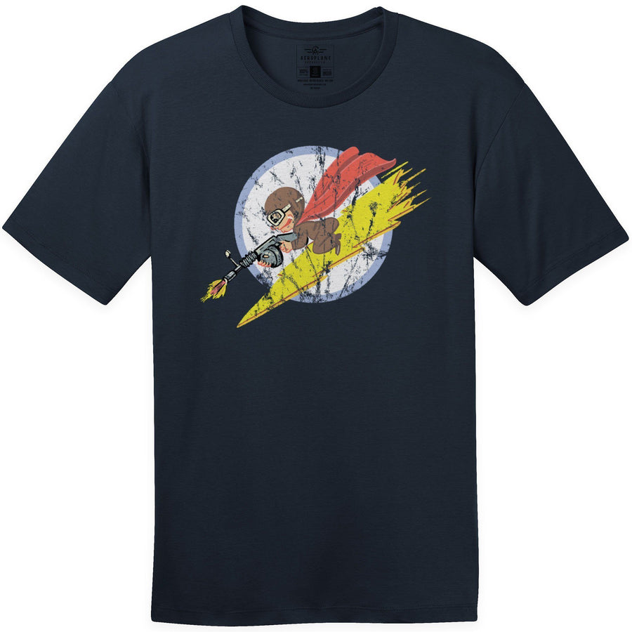 Shirts - 340th Fighter Squadron Aeroplane Apparel Co. Men's T-Shirt