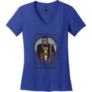 Shirts - 375th Bombardment Squadron Aeroplane Apparel Co. Women's T-Shirt