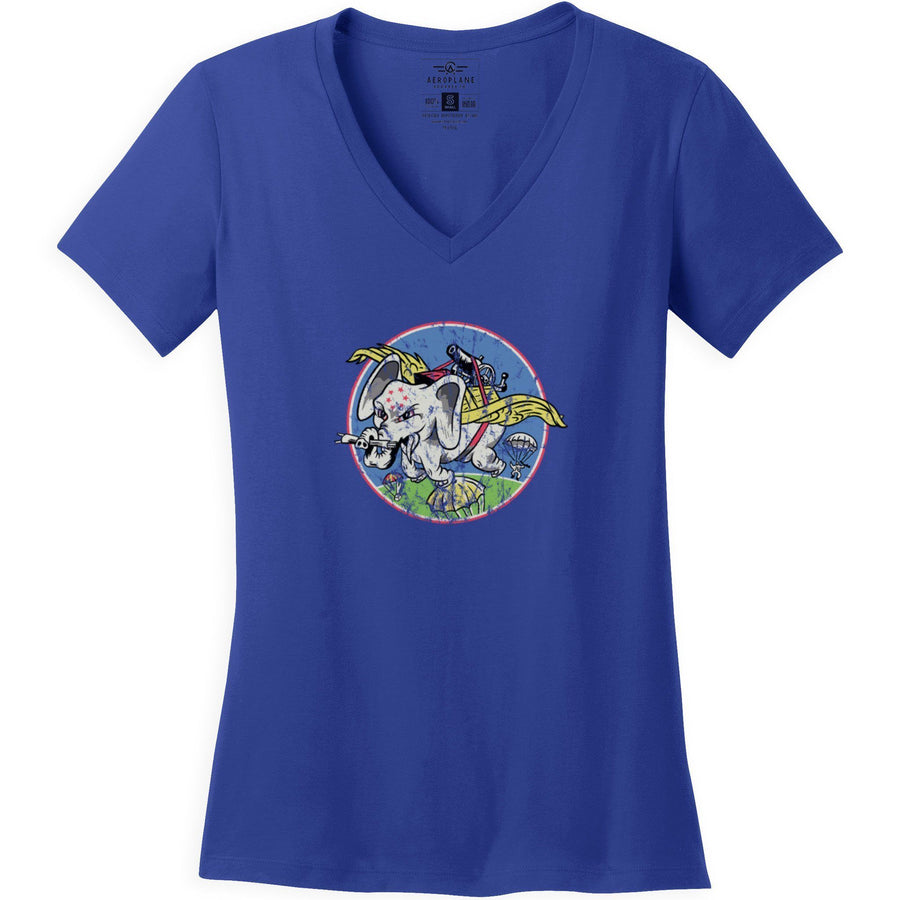 Shirts - 6th Combat Cargo Squadron Aeroplane Apparel Co. Women's T-Shirt