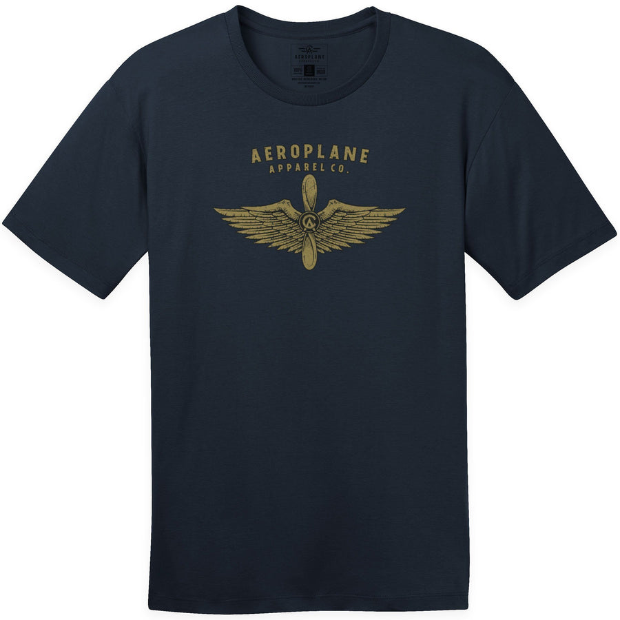 Shirts - Aeroplane Apparel Company Wings Men's T-Shirt