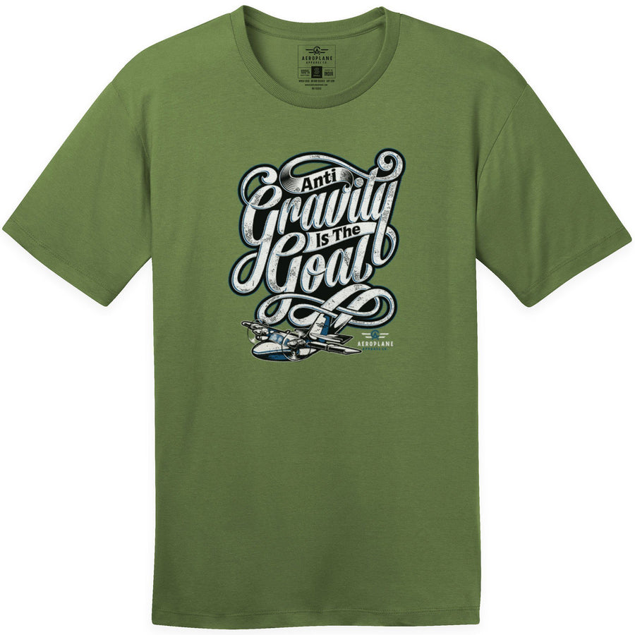 Shirts - Anti Gravity Aeroplane Apparel Co. Men's T-Shirt