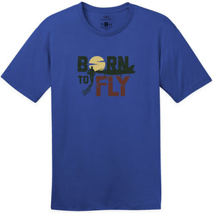 Shirts - Born To Fly Jets Aeroplane Apparel Co. Men's T-Shirt