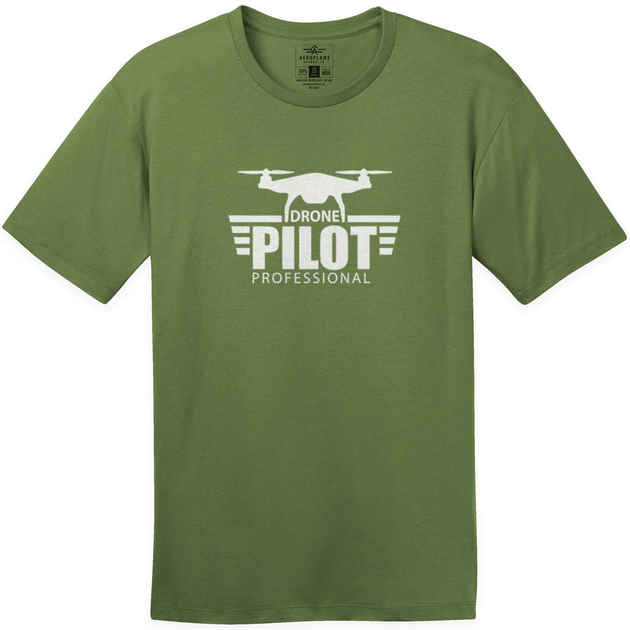 Shirts - Drone Pilot Professional Aeroplane Apparel Co. Men's T-Shirt