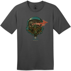 Shirts - Helmet Fly Out Aeroplane Apparel Co. Men's T-Shirt