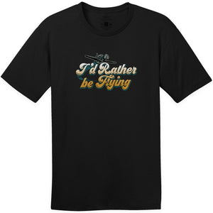 Shirts - I'd Rather Be Flying Aeroplane Apparel Co. Men's T-Shirt