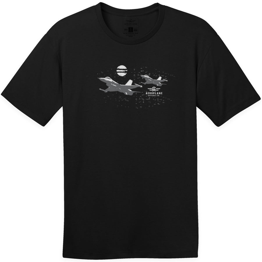 Shirts - Midnight Engagement Aeroplane Apparel Co. Men's T-Shirt