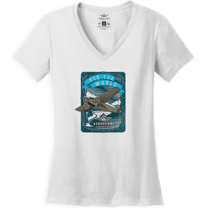 Shirts - See The World Aeroplane Apparel Co. Women's T-Shirt